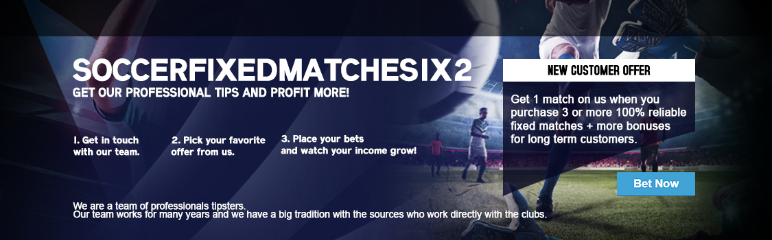 Soccer Fixed Matches 1x2